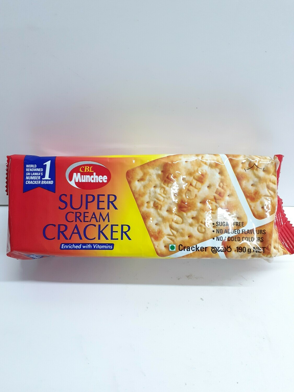Super Cream Cracker CBL MUNCHEE 190 g