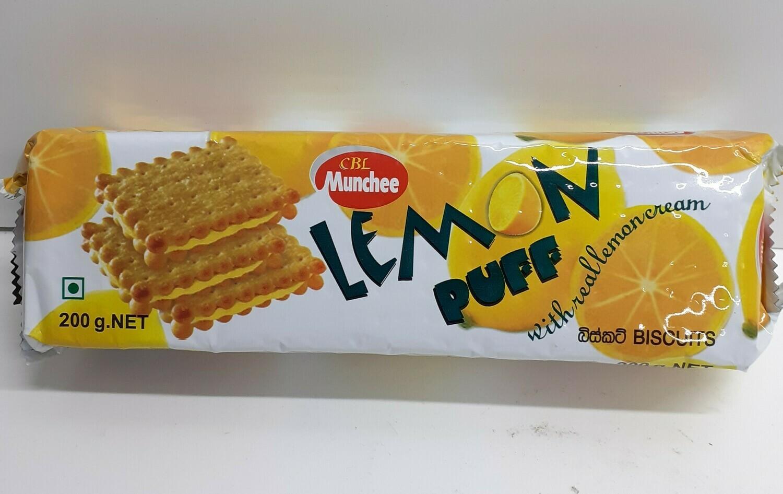 Lemon Puff CBL MUNCHEE 200 g