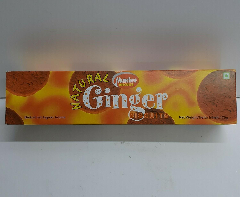 Ginger Biscuits MUNCHEE 170 g