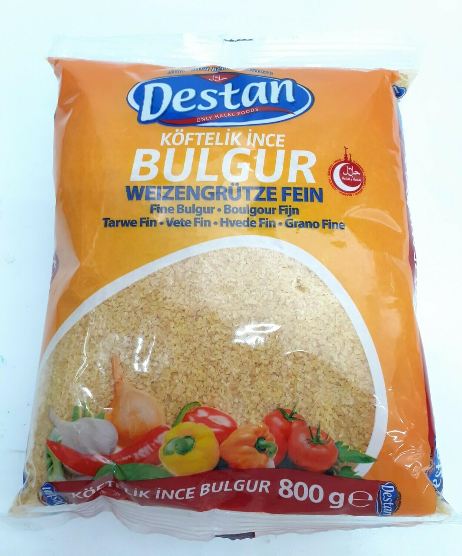Köftelk Ince Bulgur DESTAN 800 g
