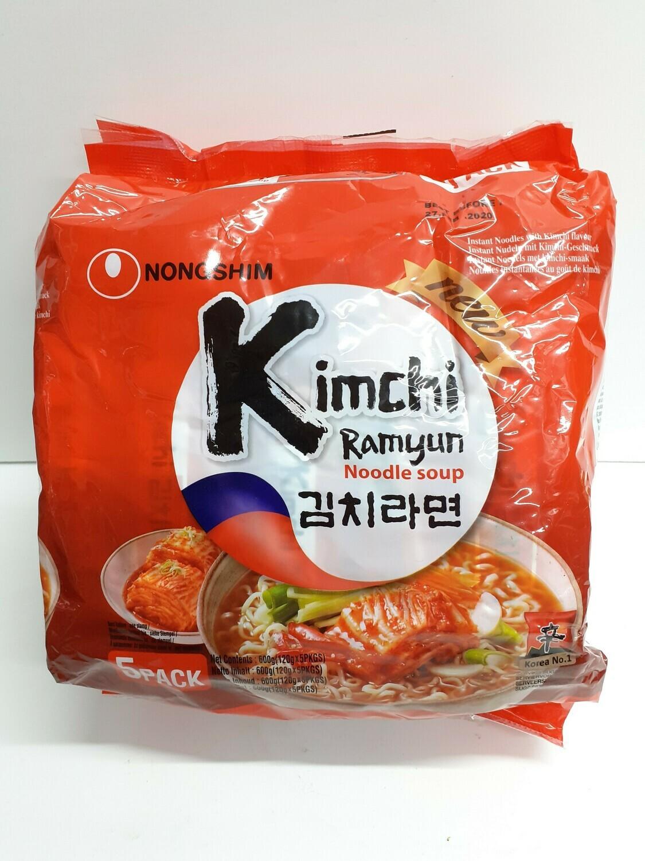 Noodle Soup KIMCHI RAMYUN 5 packs 600 g