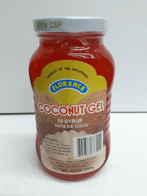 Coconut Gel FLORENCE 140 g