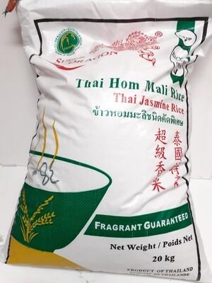 Thai Jasmine Rice SUPER DRAGON 20 Kg