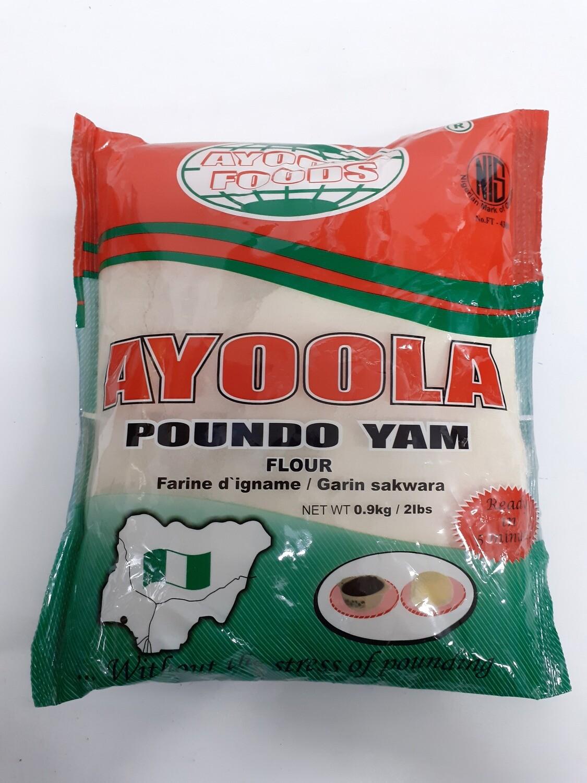 Ayoola Poundo Yam AYOOLA FOODS 0.9Kg