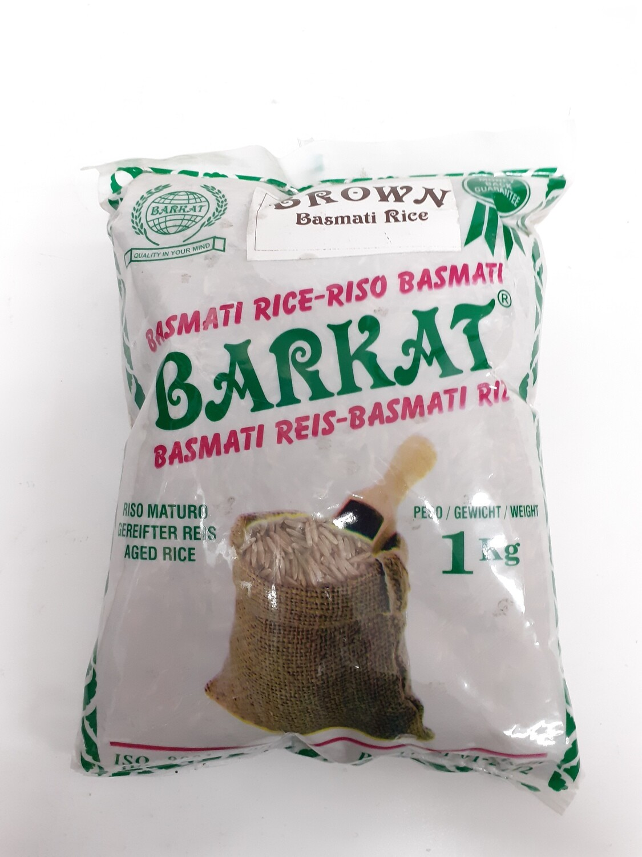 Barkat BROWN BASMATI RICE 1Kg