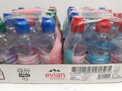 Eau Mineral Natural EVIAN 24 X 330 ml