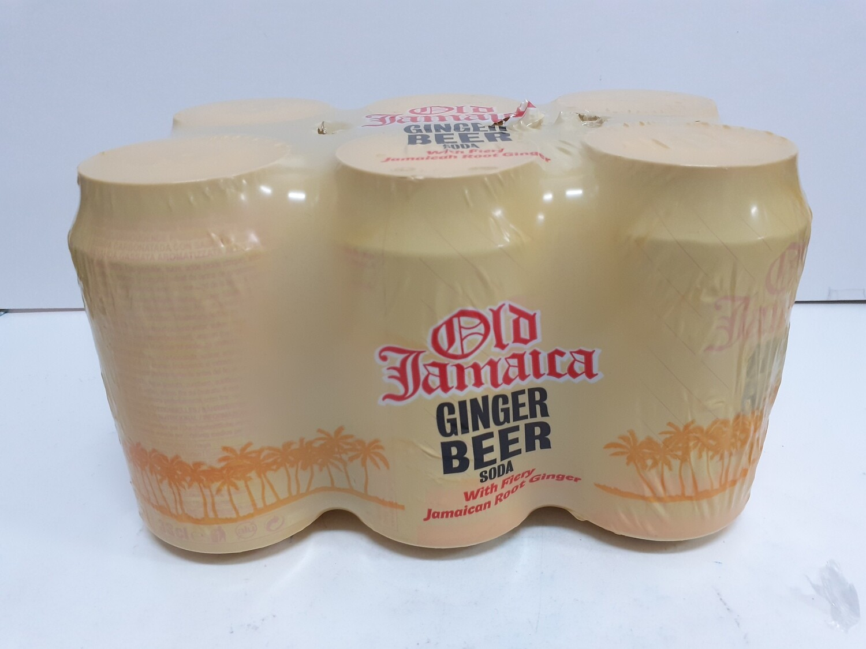 Ginger Beer Soda OLD JAMIACA 6 x 330 ml