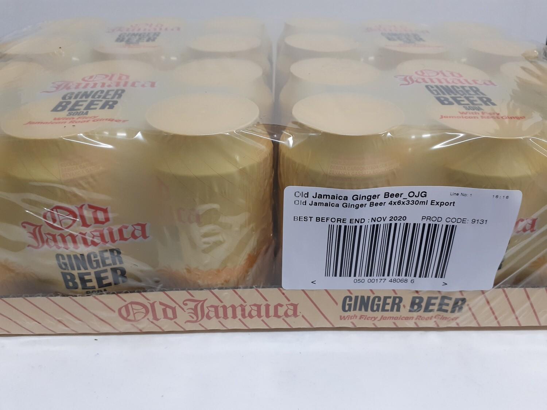 Ginder Beer OLD JAMAICA 24 x 330 cl
