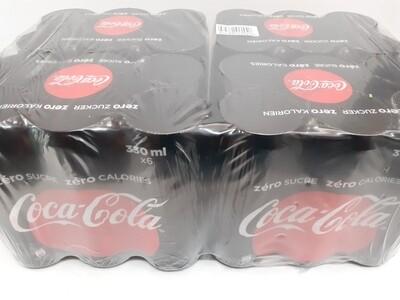 Cola Cola Zero Sucre 24 x 330 ml