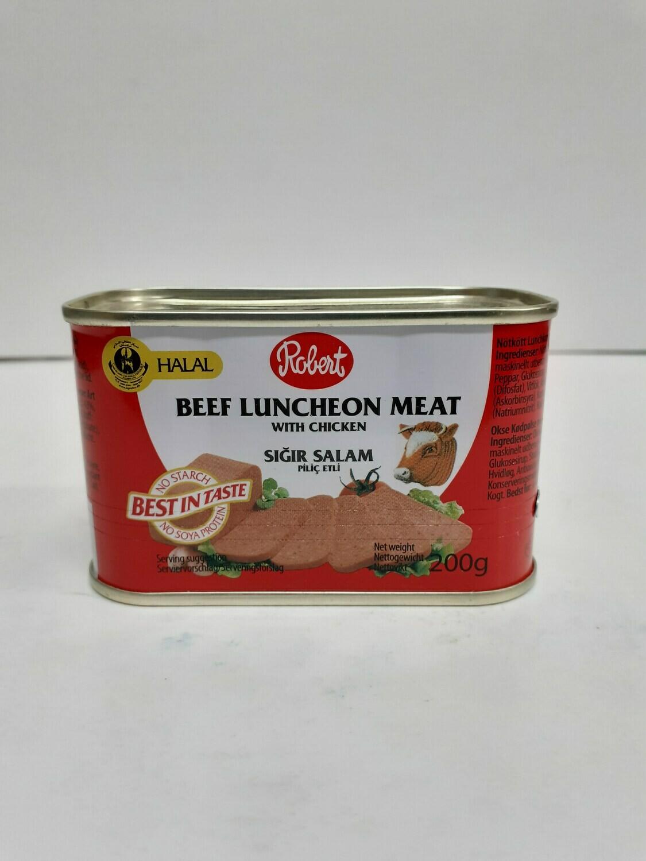 Beef Luncheon Meat with Chicken ROBERT 200 g
