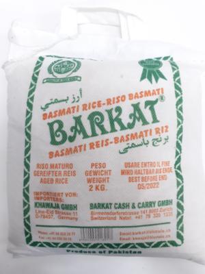 Basmati Rice BARKAT 2Kg