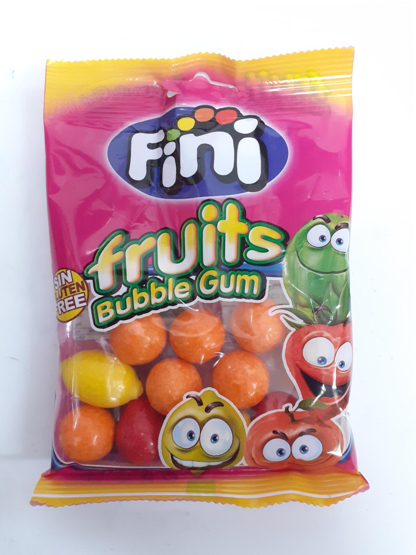 Fruits Bubble Gum FINI 80 g