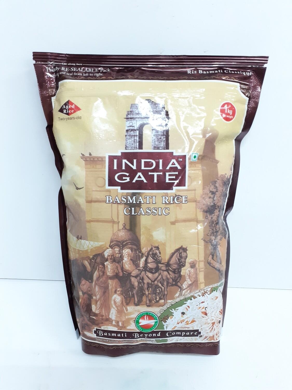 Basmati Rice Classic INDIAN GATE 1 Kg