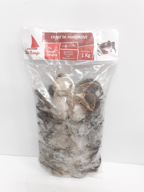 Crabe de Mangrove ILE ROUGE 1 Kg