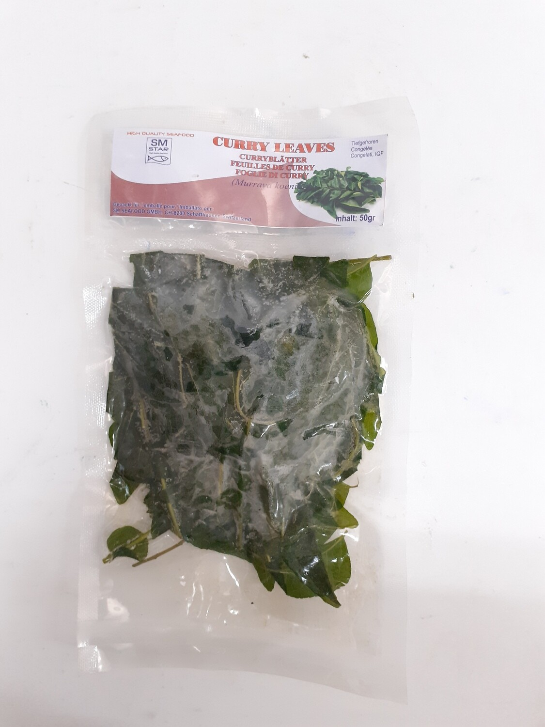 Feuilles de Curry/Curry Leaves SM STAR 80 g