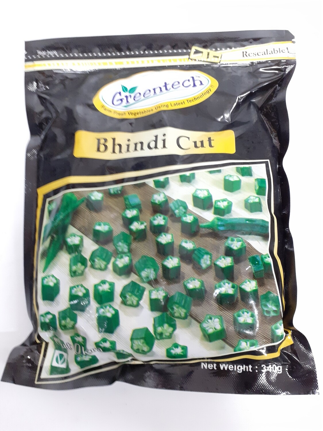 Bhindi Cut GREENTECH 340 g