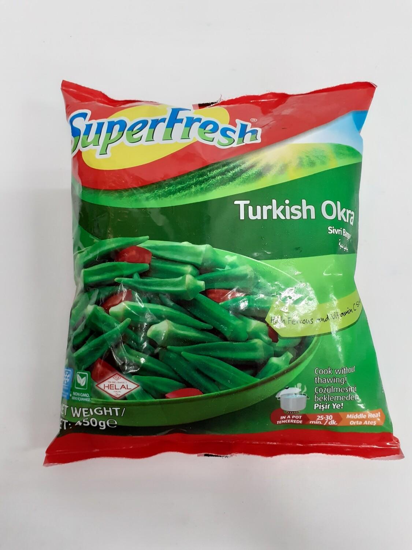 Turkish Okra SUPERFRESH 450 g