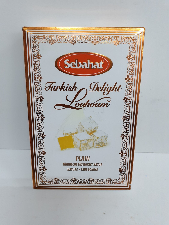 Turkish Delight Plain SEBAHAT 250 g