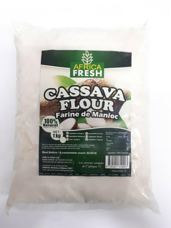 Cassava Flour AFRICA FRESH 1Kg