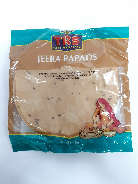 Jeera Papads TRS 200 g