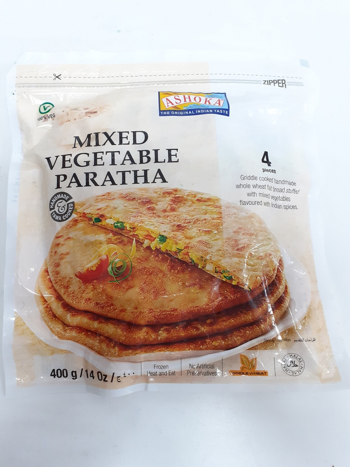 Mixed Vegetable Paratha ASHOKA 400 g