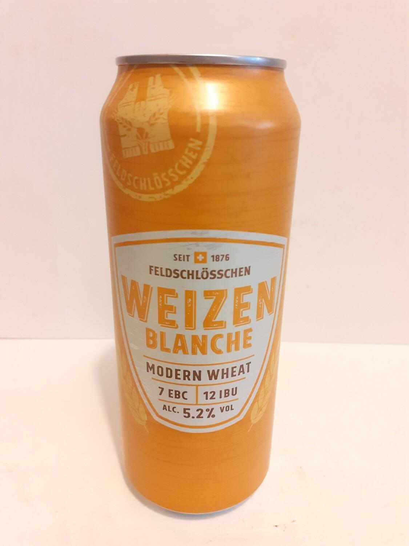 Weizen Blanche FELDSCHLOSSCHEN 50 cl/ 5,2 % alc