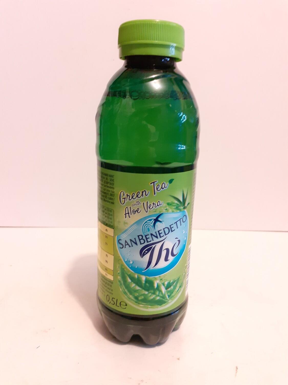 Green Thea with Aloe Vera SAN BENEDETTO THÉ 50 cl