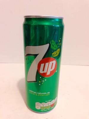 7UP arome Naturelle de Citron & Citron Vert 33 cl