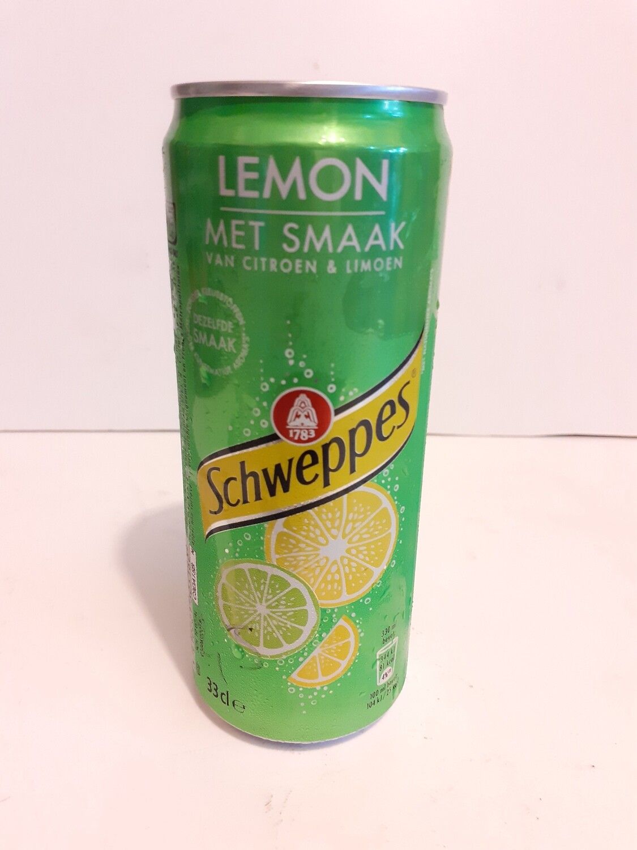 Lemon Met Smaak SCHWEPPES 33 cl