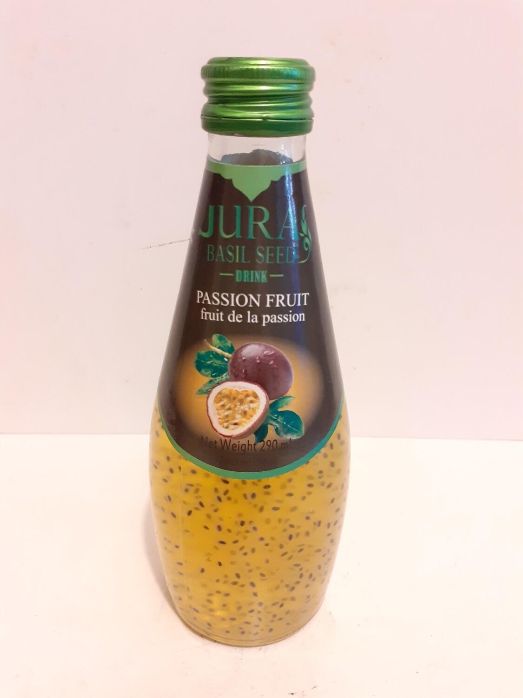 Basil Seed Drink Fruit de Passion JURA 290 ml