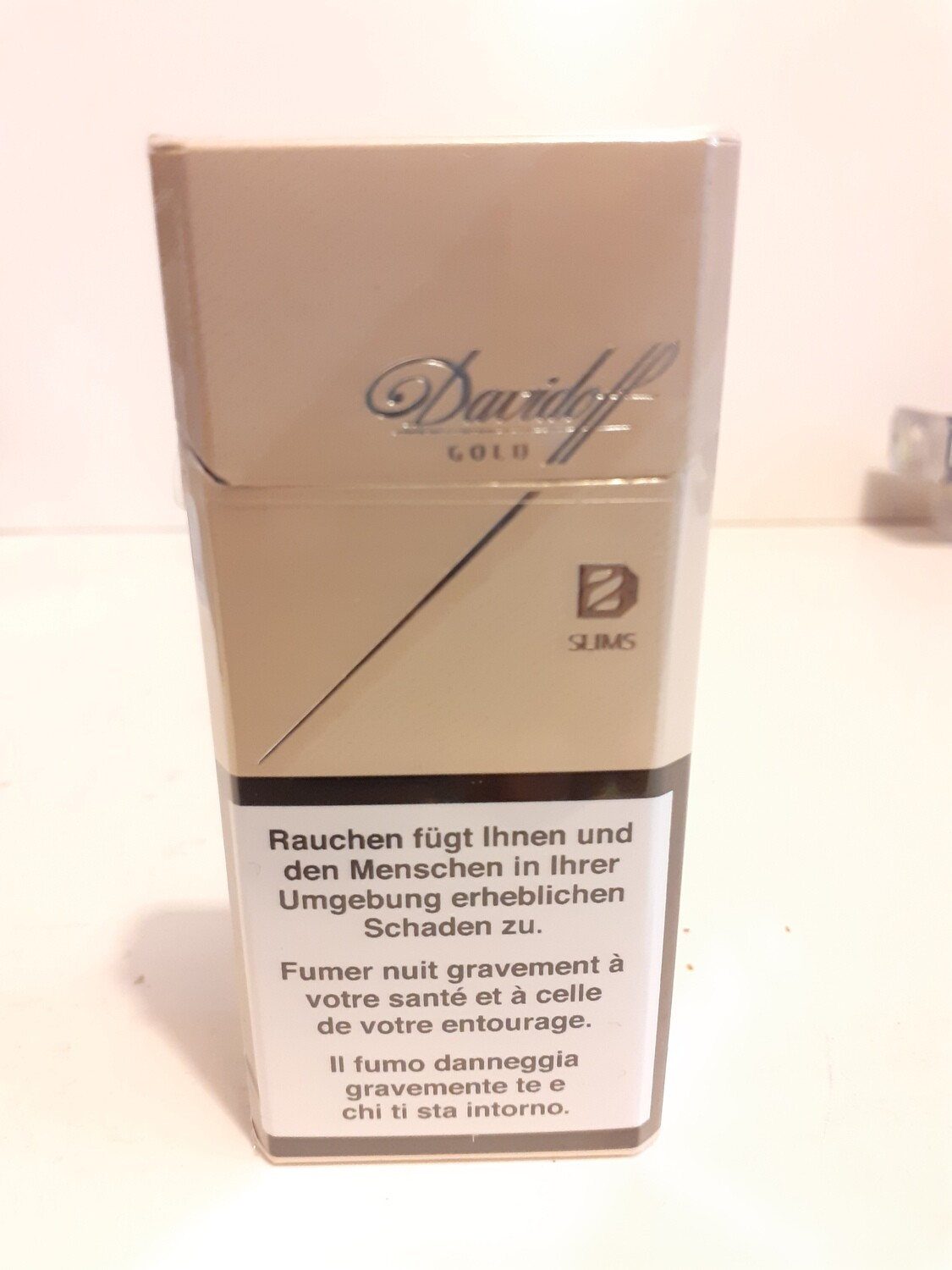 DAVIDOFF Gold Slim