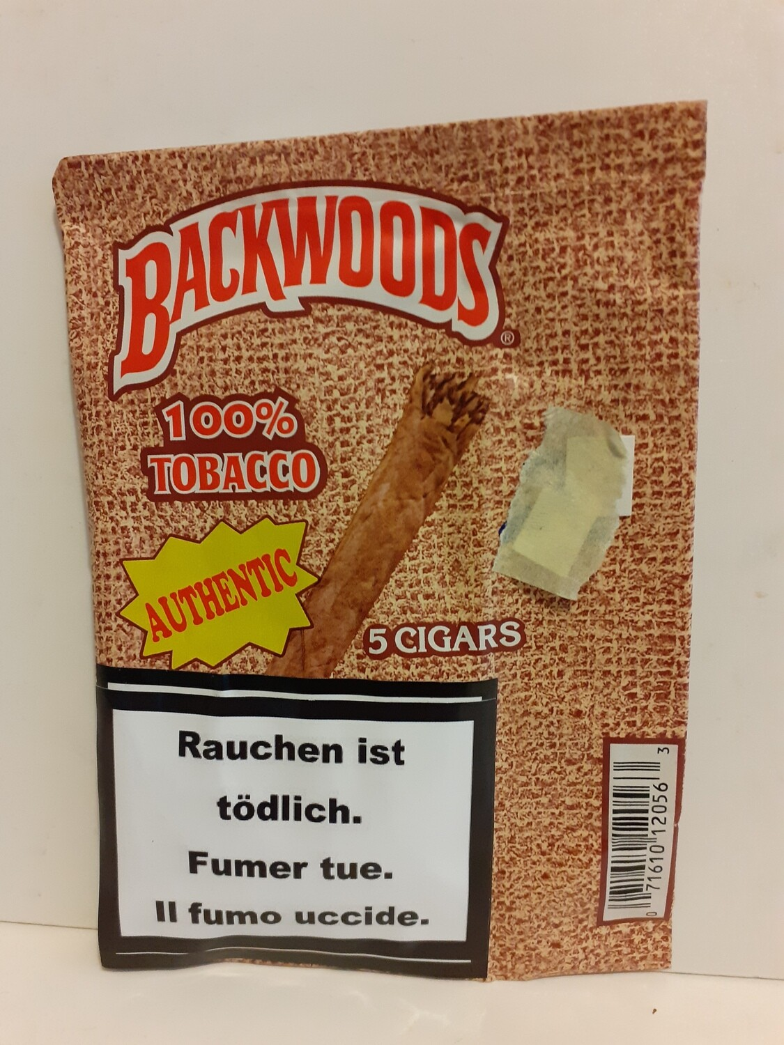 Authentic Cigars BACKWOODS