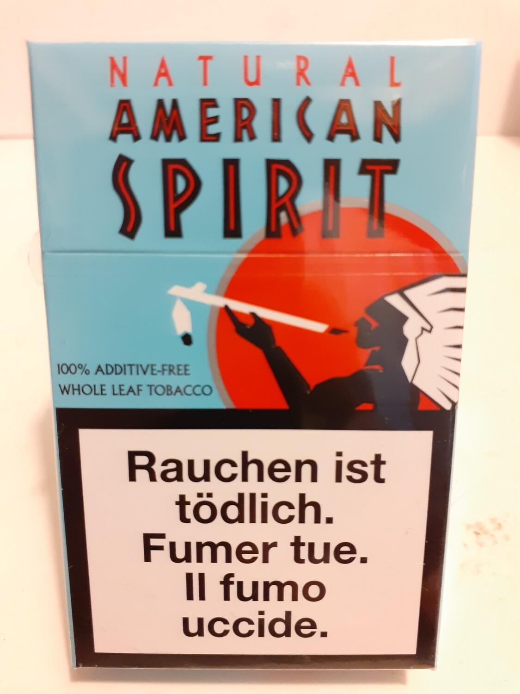 Natural American Spirit Blue