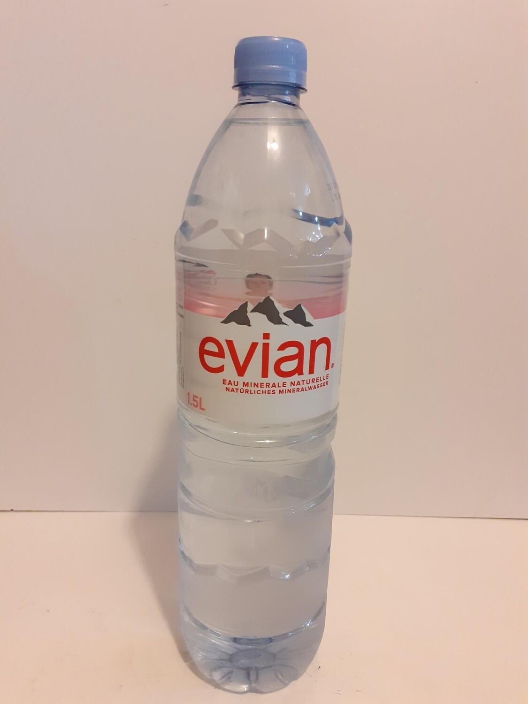 Eau minerale naturelle EVIAN 1.5L