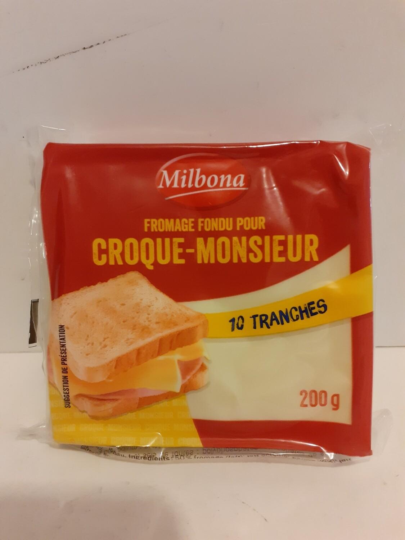 Fromage fondu pour Croque-Monsieur MILBONA 200g