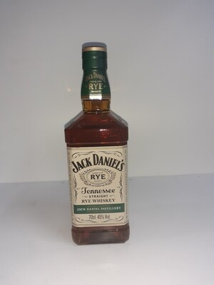 JACK DANIEL'S Rye whiskey 70cl