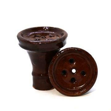 Foyer en céramique brun
