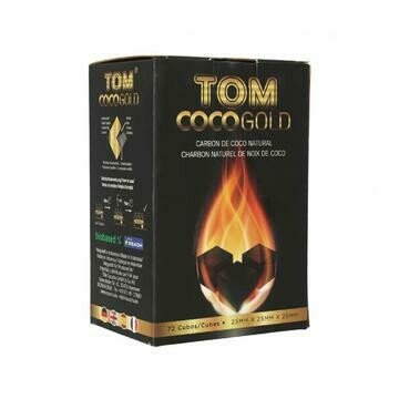 Charbons Tom CocoGold 72pce