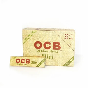 OCB Slim Organic Hemp + Filters 32