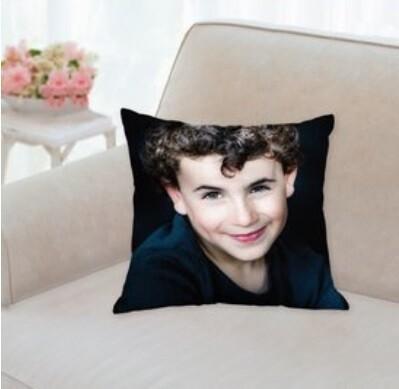 Photo + Printed Cushion