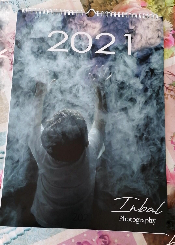 Wall calendar - A3 Inbal streets photography