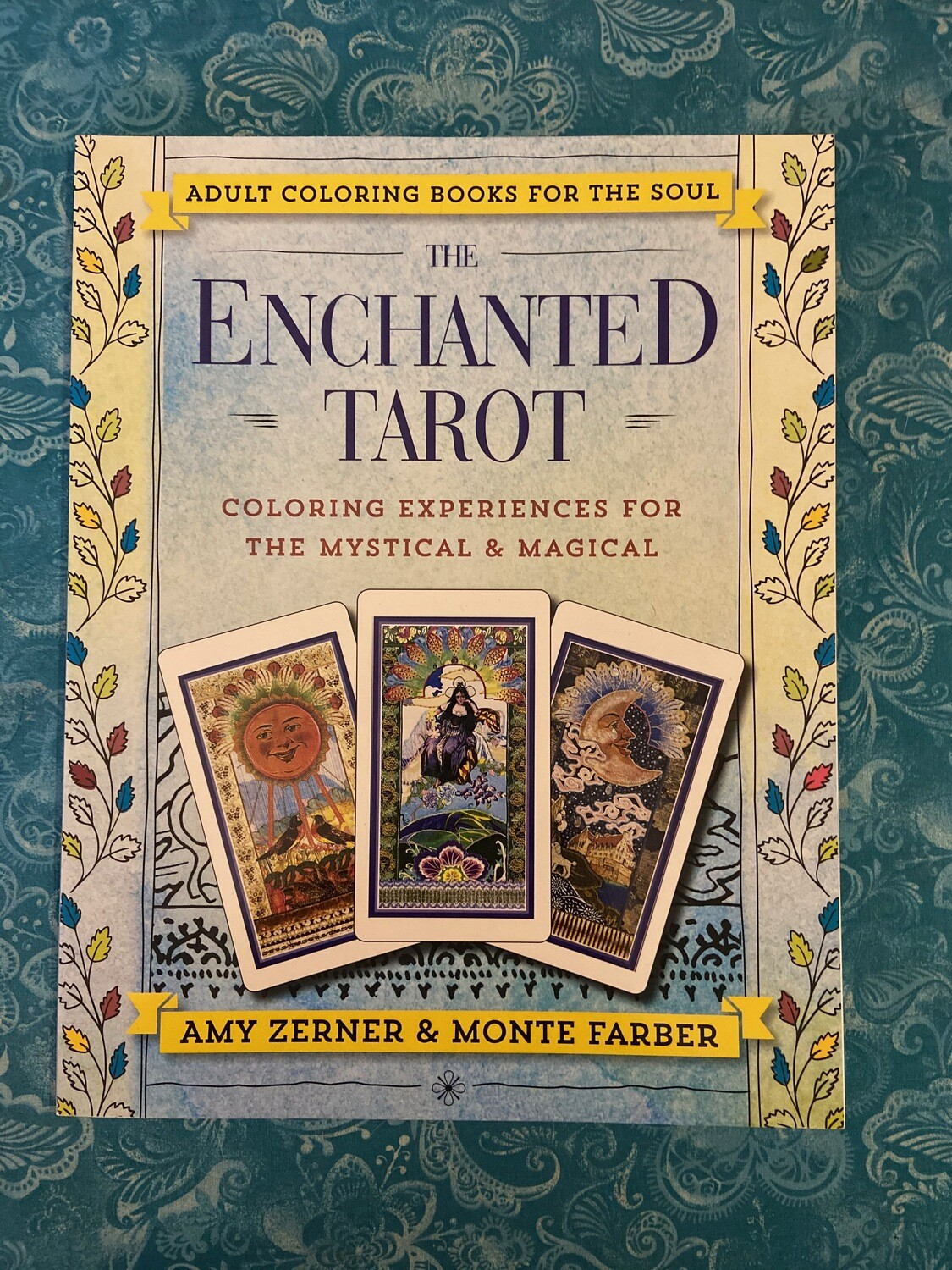 Tarot Coloring Book - Enchanted Tarot