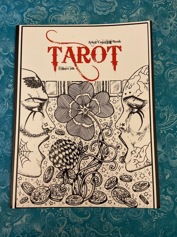 Tarot Coloring Book - Tarot Ink
