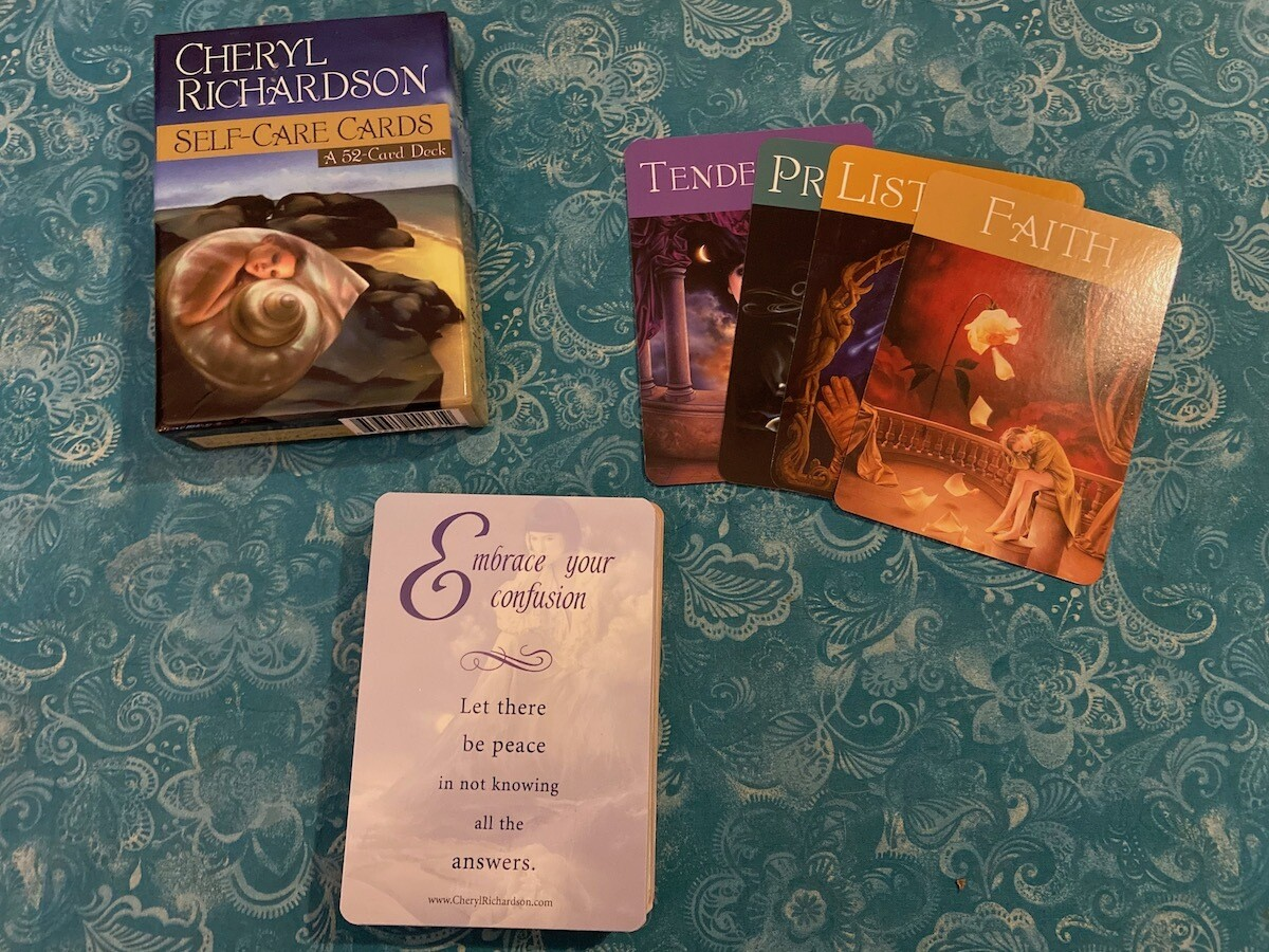 Self-Care Oracle Cards (OOP)