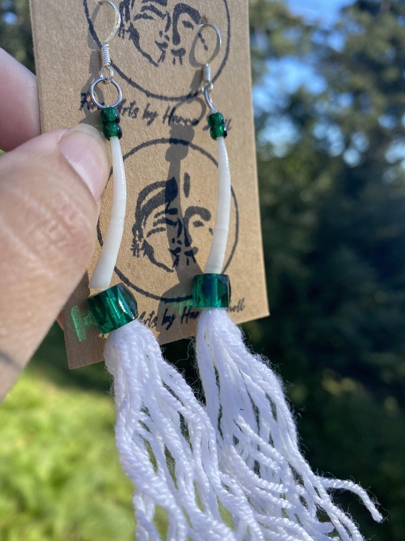 Sugpiaq tassel inspired earrings