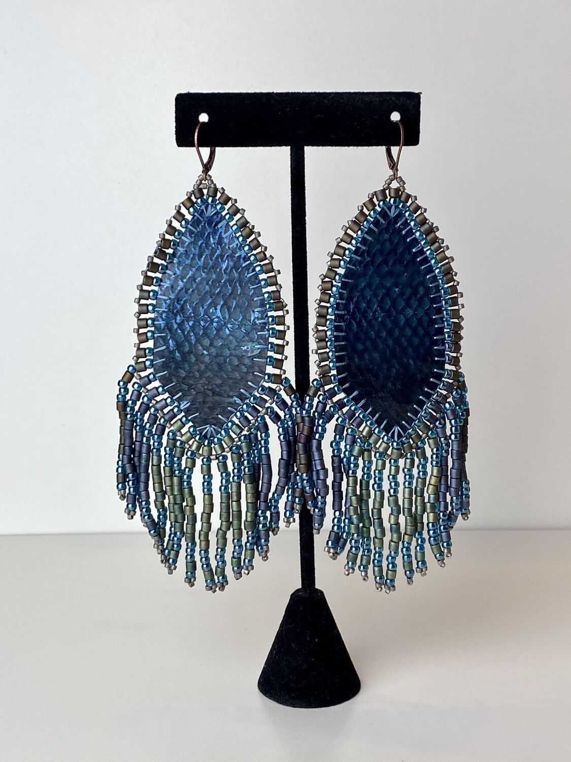 """""""calm before the storm"""" earrings 5"""