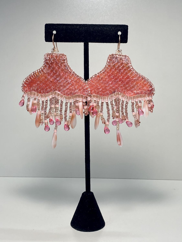 6 - Whale chandelier earrings