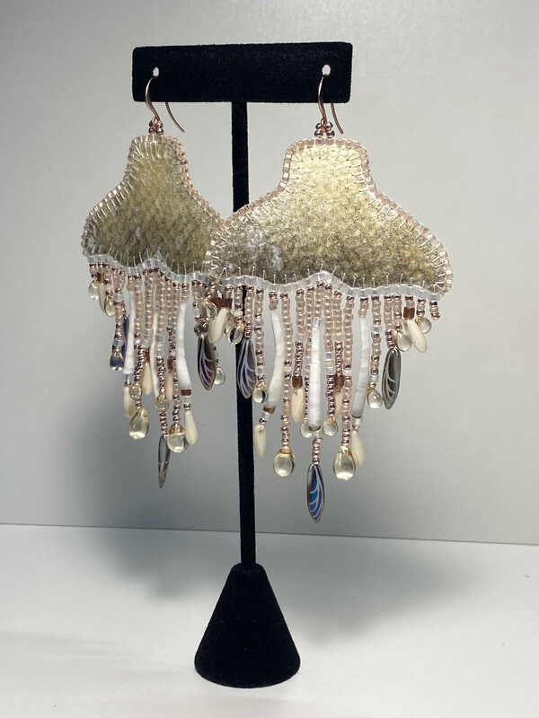 4 - Whale chandelier earrings