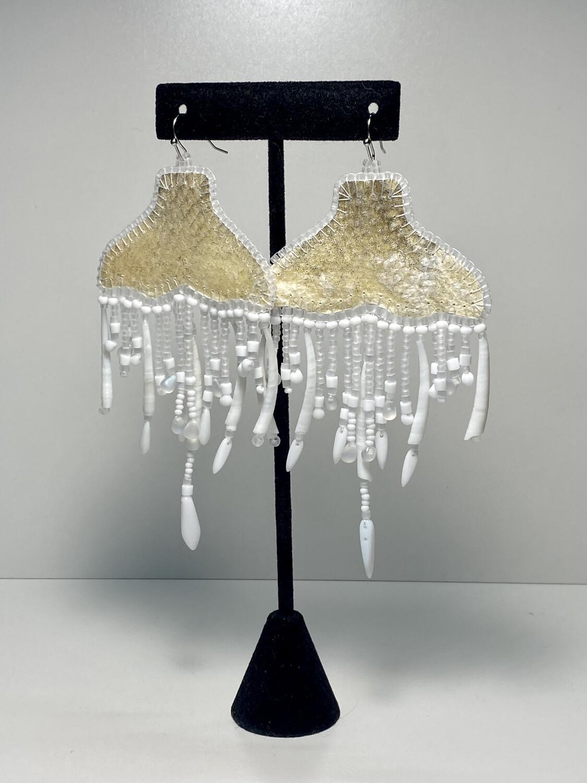 5 - Whale chandelier earrings