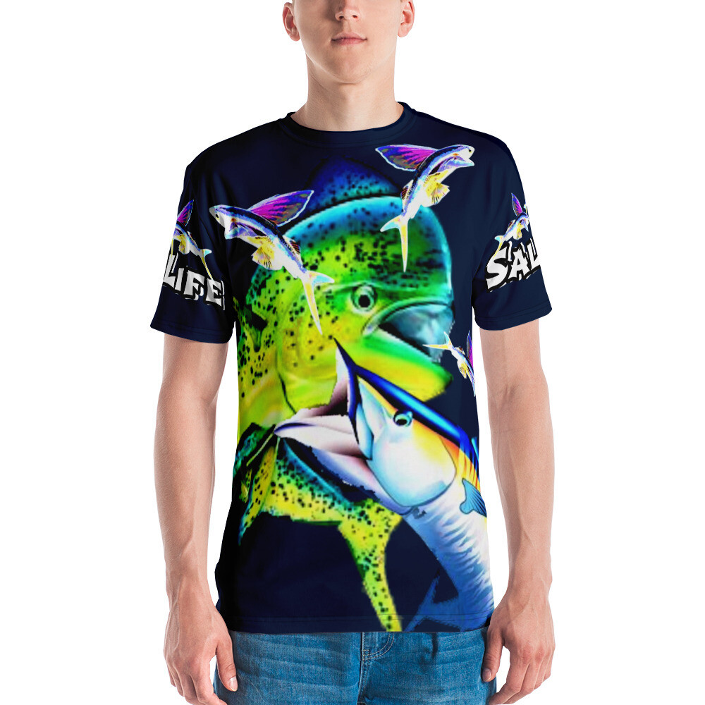 Aussie Dog Sports / Fish On / All Over Print / Unisex T-shirt